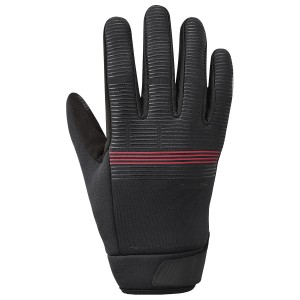 Rękawiczki SHIMANO WindBreak Thermal red