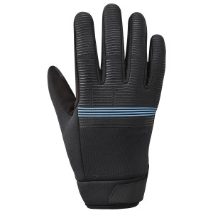 Rękawiczki SHIMANO WindBreak Thermal blue